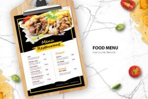 Food Menu - Snack & Desert Resto