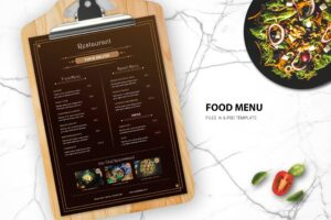 Food Menu - Healthy Restaurant
