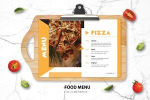 Food Menu - Pizza Resto