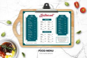 Food Menu - Simple Dishes