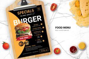 Food Menu - Special Burger