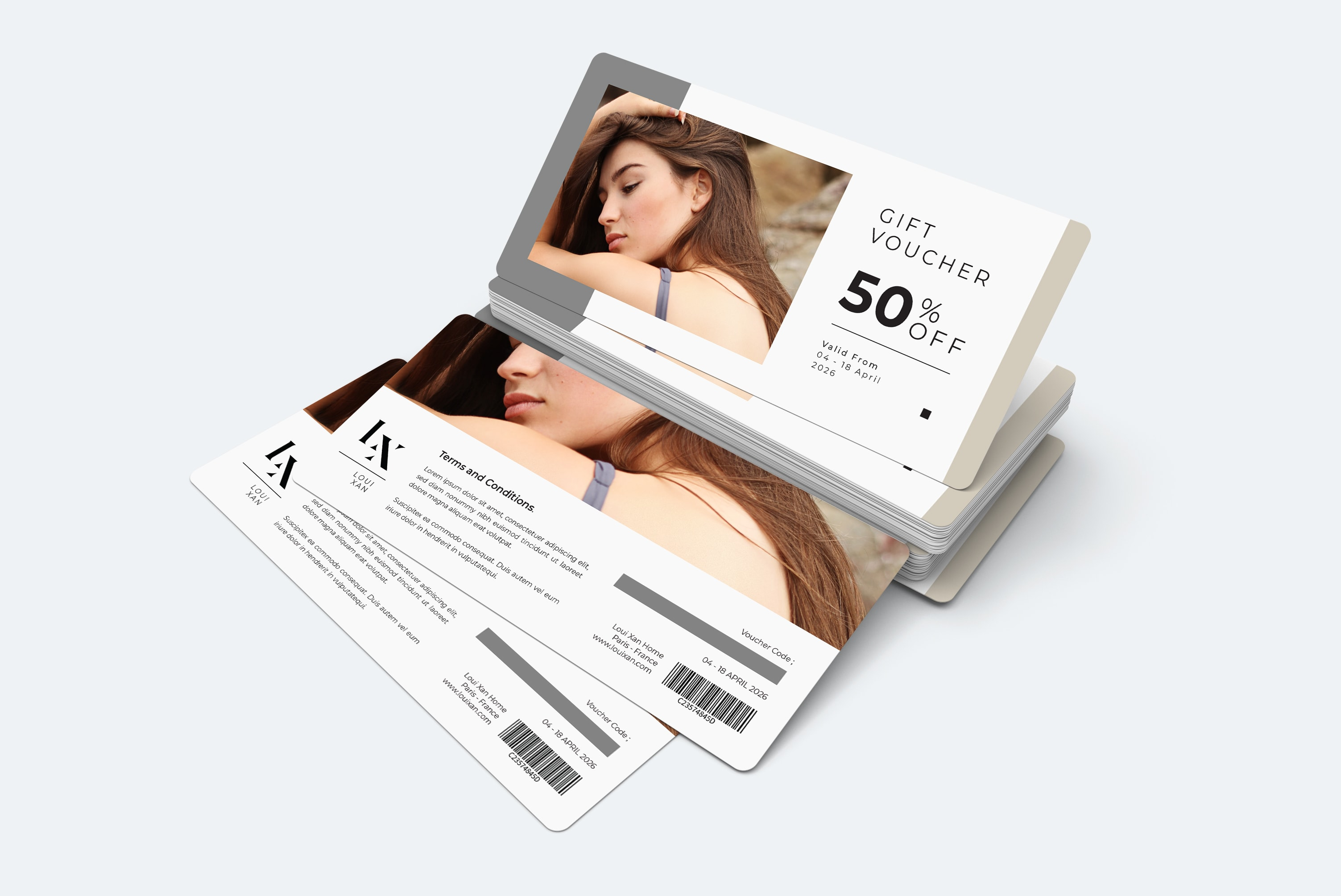 Gift Card Voucher - Body Care Soap