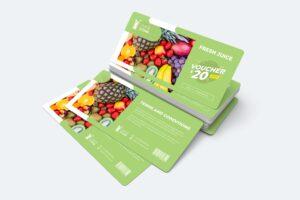 Gift Card Voucher - Fresh Juice Discount