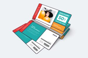 Gift Card Voucher - Party Item Promo