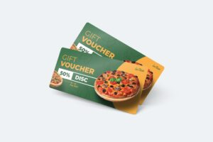 Gift Card Voucher - Pizza Special Promo