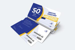 Gift Card Voucher - Special Anniversary