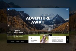 Hero Header - Adventure Travel