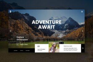 Hero Header - Adventure Travel