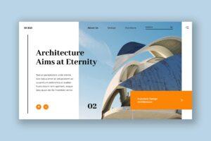 Hero Header - Futuristic Architecture