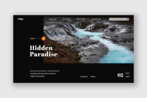 Hero Header - Hidden Paradise Trip