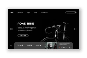Hero Header - Road Bike Store