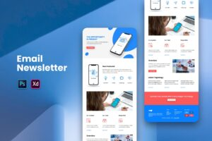 Productivity Mobile Apps - Email Newsletter