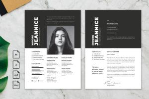 CV Resume – Graphic Designer Profile 20