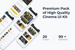 Mobile UI KIT - Cinema App