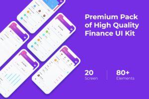 Mobile UI KIT - Finance App