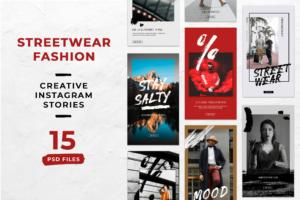 Instagram Stories - Street Wear Fashion