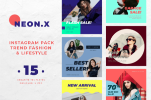 Instagram Banner - Fashion Trend Pack