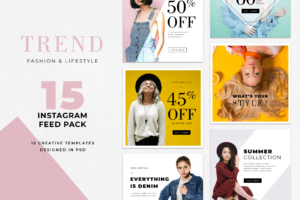 Instagram Banner - Trendy Clothes