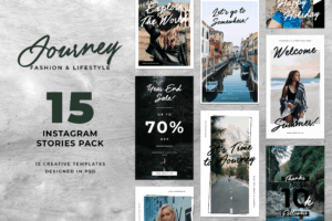 Instagram Stories - Journey Dress Theme