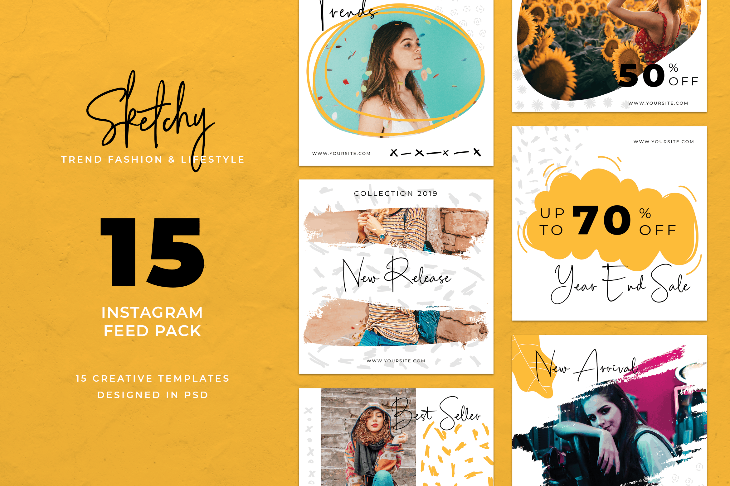 Instagram Banner - Modern Fashion Theme