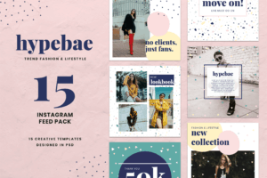 Instagram Banner - Collection Fashion Themes