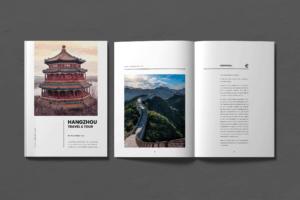 Magazine Template - Travel & Tour