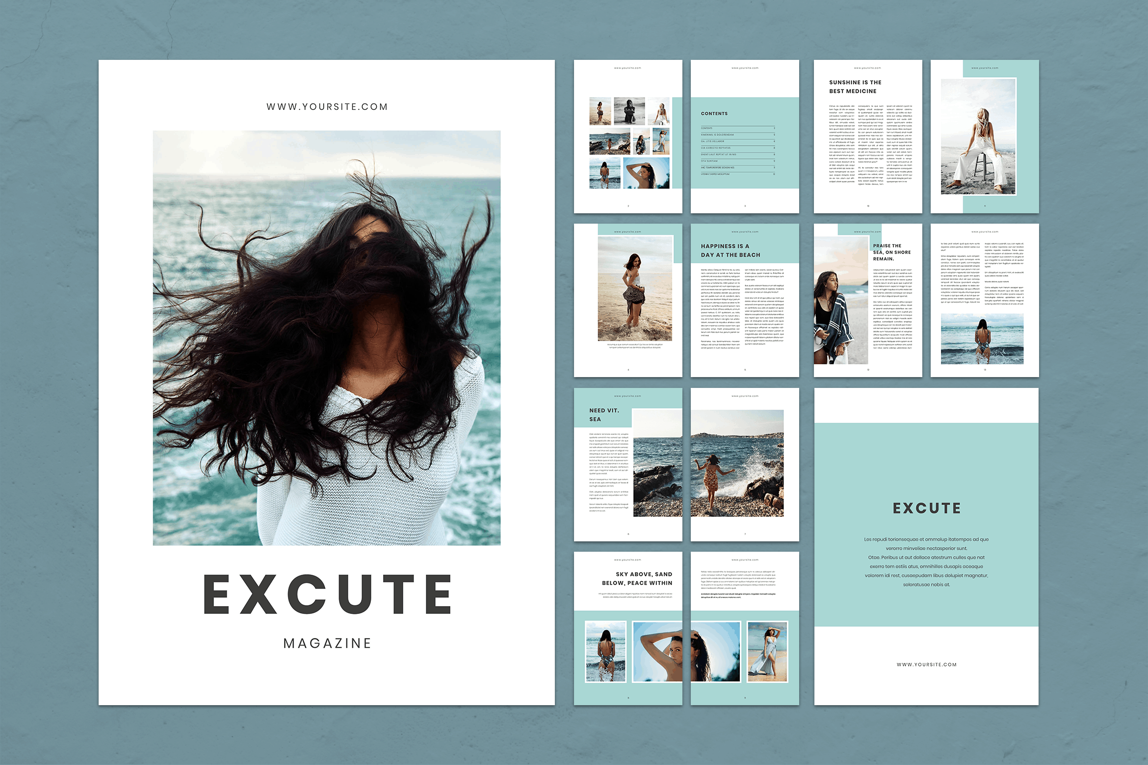 Magazine Template - Photography Style
