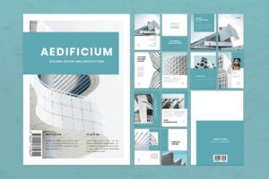 Magazine Template - Building Design