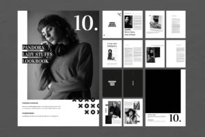 Magazine Template - Pandora Lady