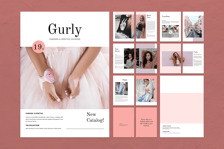 Magazine Template - Fashion Catalogs