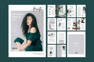 Magazine Template - Fashion Revolution