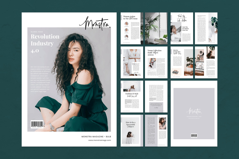 Magazine Template - Fashion Revolution