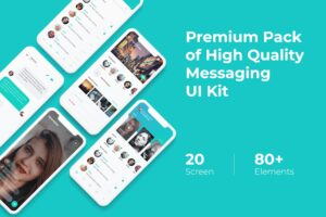 Mobile UI KIT - Messaging App