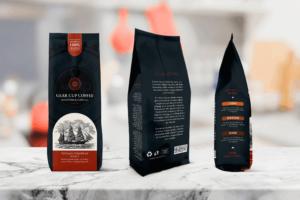 Packaging Template - Cup Coffee