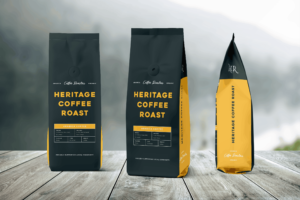 Packaging Template - Heritage Coffee