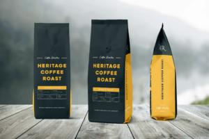 Packaging Template - Heritage Coffee