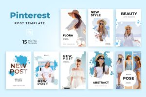 Pinterest Template - Fashion & Beauty Post