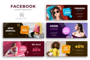 Facebook Cover - Modern Fashion Shop