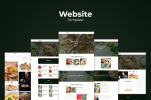 Website Template - Organic Food Resto