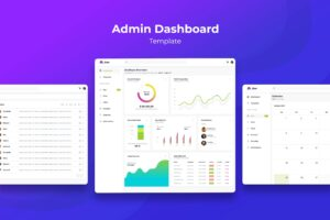Admin Dashboard - E-Commerce Charts