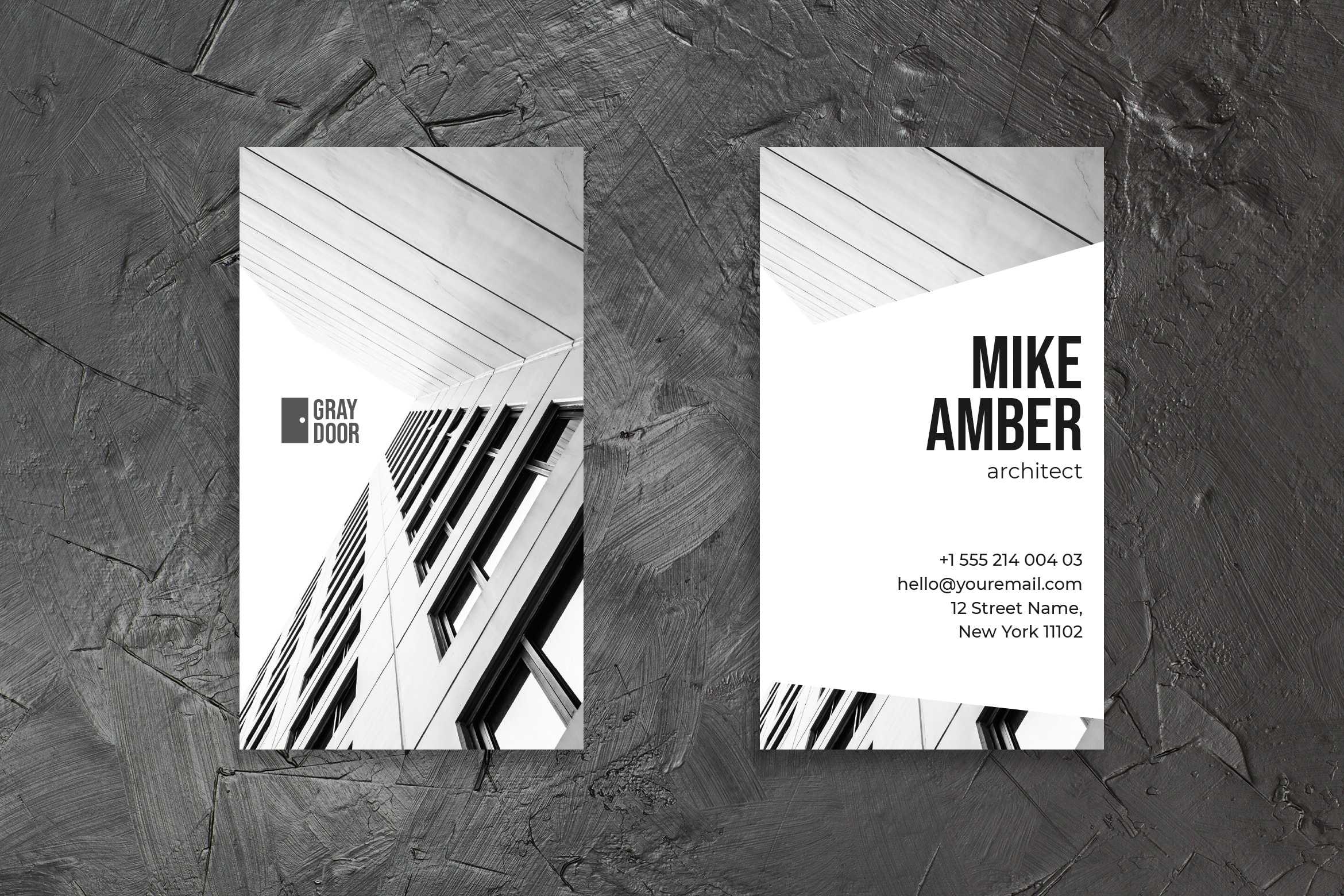 Business Card - Architect Identity