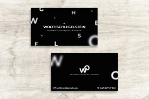 Business Card - Art Director Identity