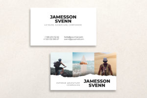 Business Card - Extreme Adventure Companion