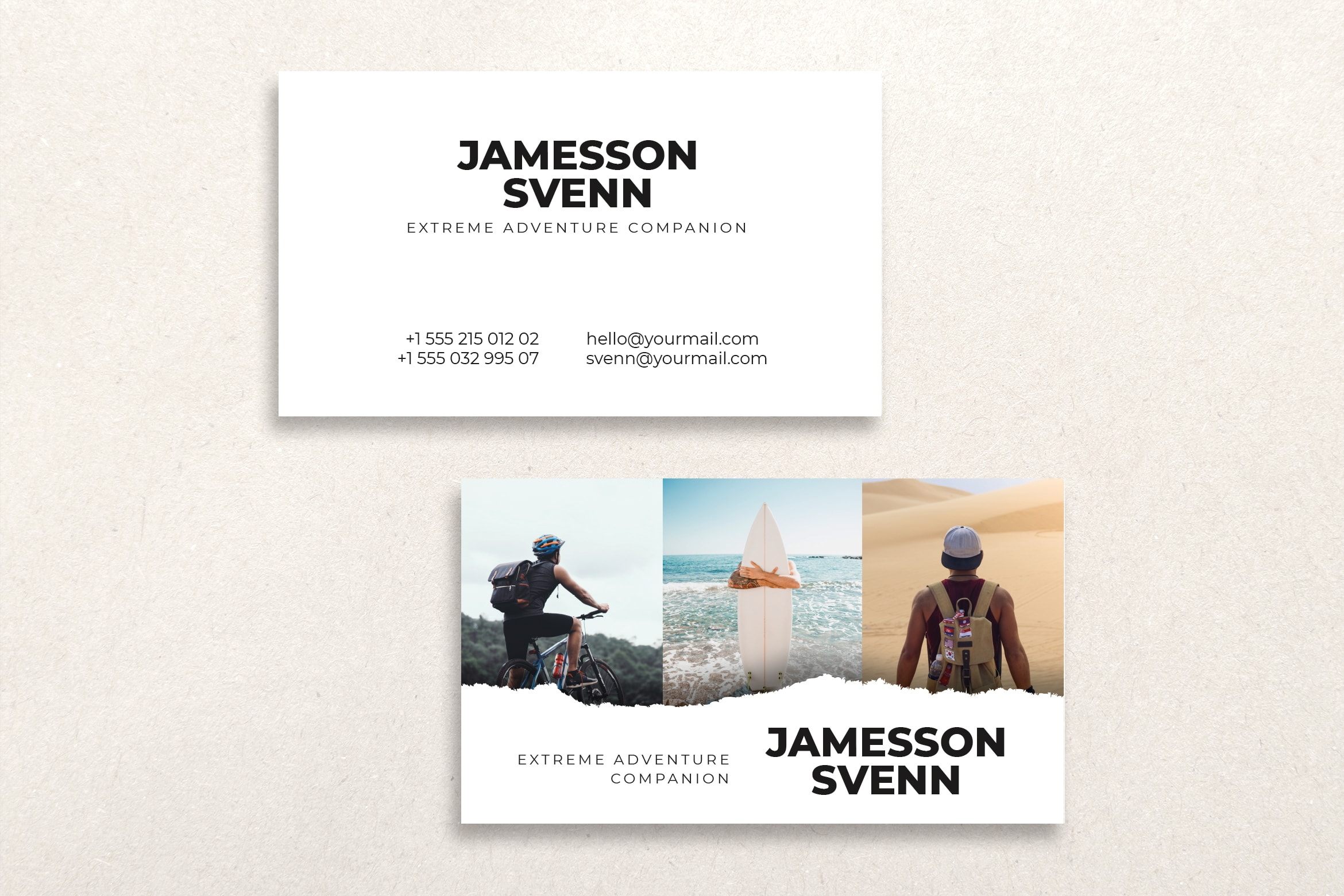 Business Card - Extreme Adventure Companion