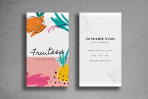 Business Card – Fresh Template