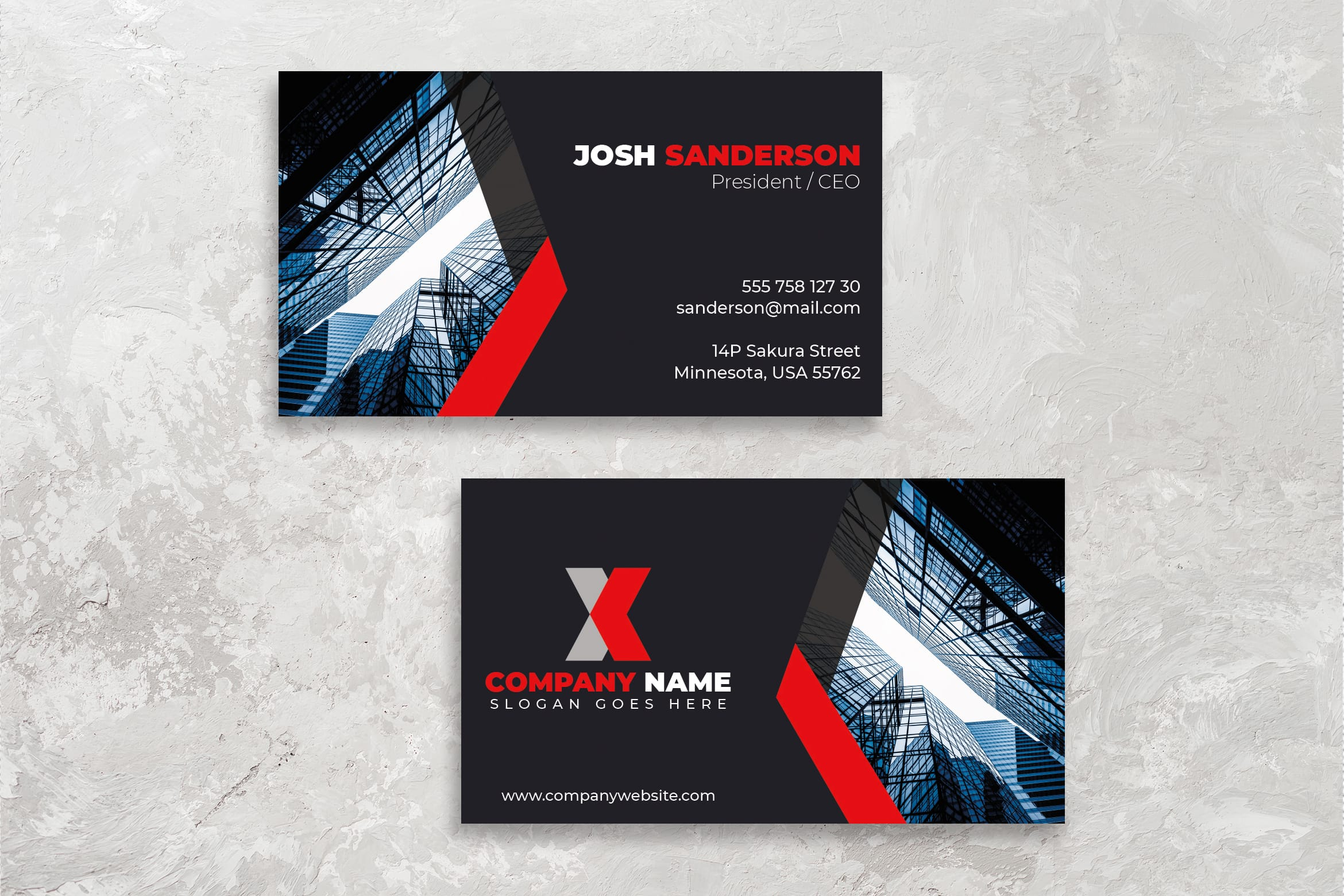Business Card - Personal Identity Brand