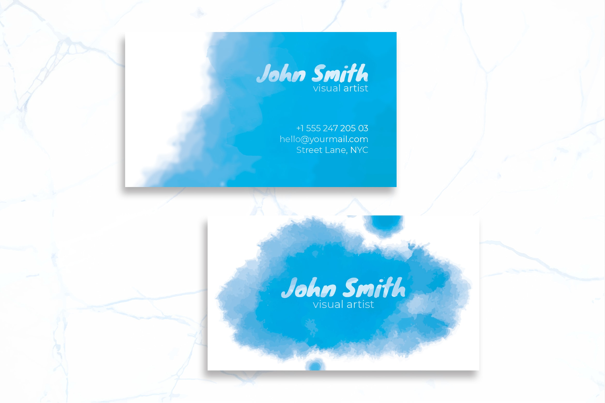 Business Card - Visual Artist Identity