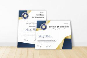 Certificate - Company Rewards
