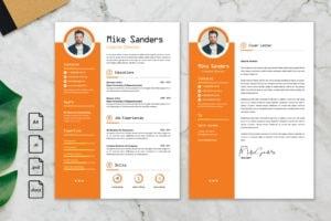 CV Resume – Creative Director Profile 2