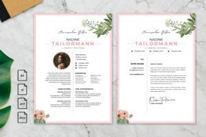 CV Resume – Graphic Designer Profile 25